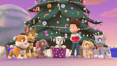 Pups Save Christmas Book.Paw Patrol Netflix