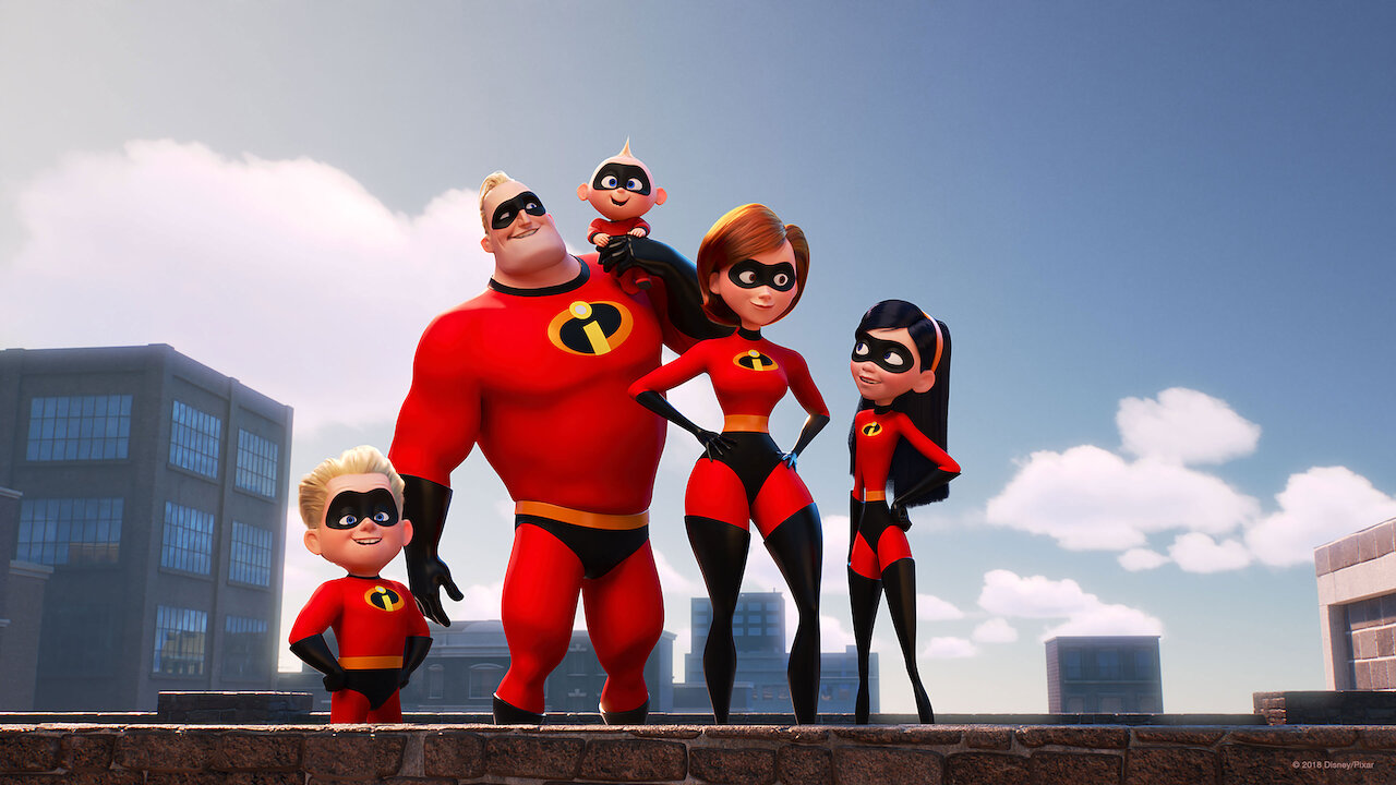 The Incredibles 2 Netflix