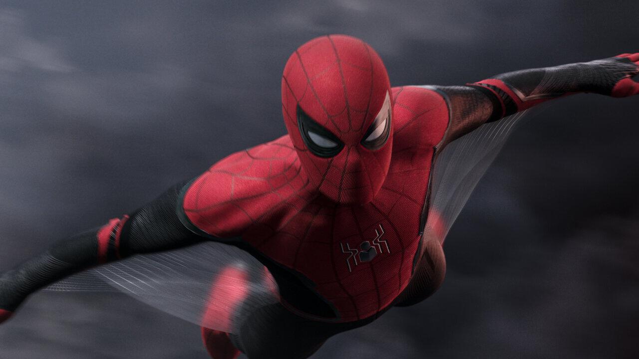 Spider Man Far From Home Netflix